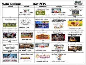 May-2018- Main Campus